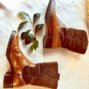 Ralph Lauren Genuine Leather boots